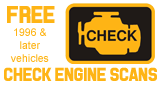 Free Check Engine Scans in Vancouver, WA - 1996 and later vehicles