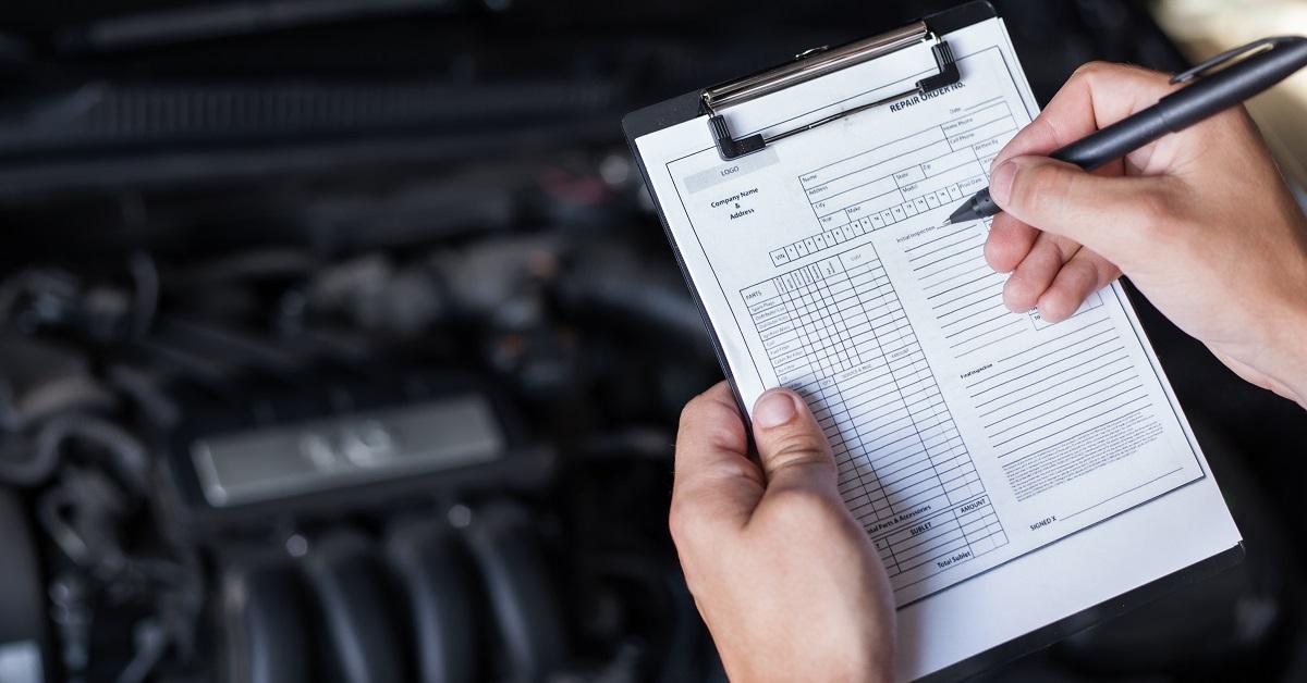 pre purchase inspection checklist cover